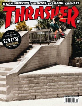 Thrasher Skateboard Magazine – Ноябрь (2011) PDF