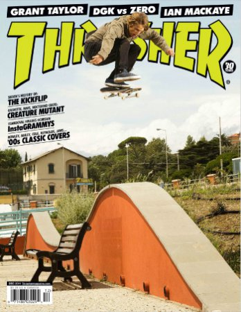 Thrasher Skateboard Magazine – Декабрь (2011) PDF