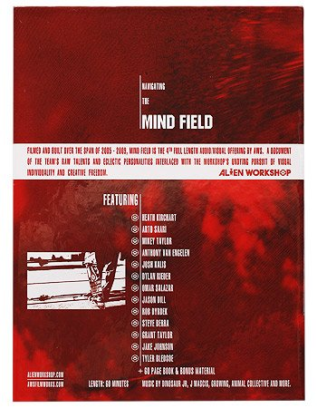 Alien Workshop - Mind Field (2009) DVD